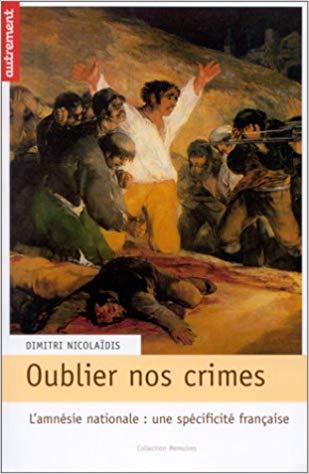 Oublier nos crimes