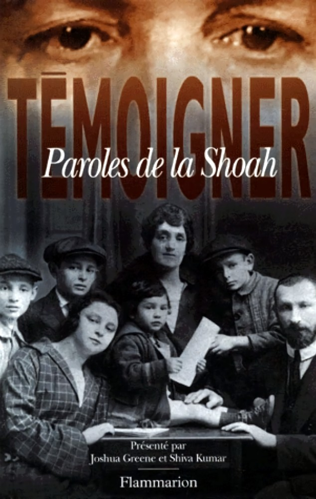 Témoigner : paroles de la Shoah