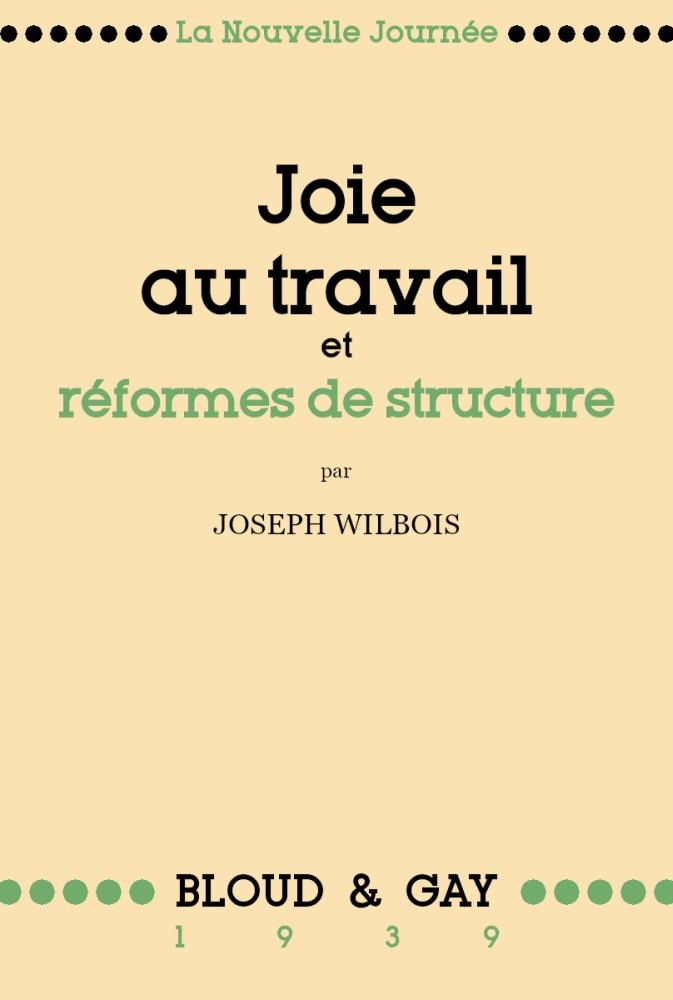 Joie au travail et réformes de structure